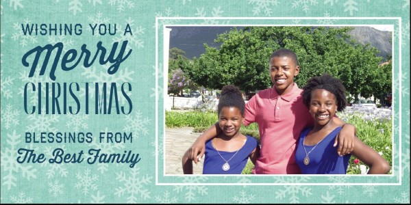 Merry Christmas and Have a Blessed New Year!