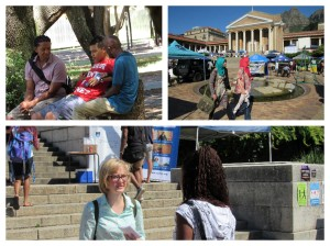 UCT and UWC orientation outreach 2016